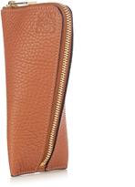 Loewe Zip-around leather key holder