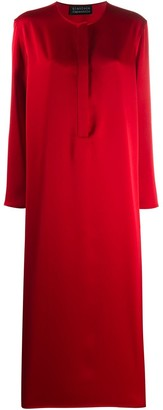 Gianluca Capannolo Long-Sleeved Shirt Dress