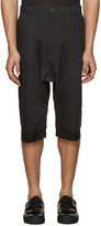 Alexandre Plokhov Black Double Cuff Shorts