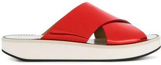 Flamingos Open-Toe Sandals