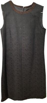 Dolce & Gabbana Brown Wool Dresses