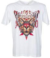 Marcelo Burlon County of Milan White Cotton Printed T-shirt Feliciana