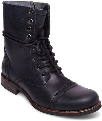 Steve Madden Troopah-C Cap Toe Boot
