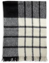 Agnona Anna Suri Alpaca Wool Bold Plaid Throw