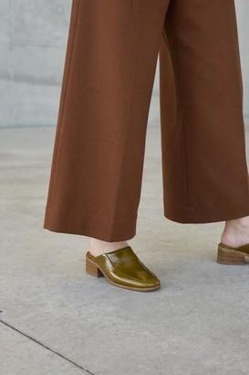 Anne Thomas - Morris Mule Koti Khaki Shoes - 36