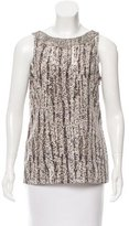 Sachin + Babi Embellished Sleeveless Top