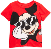 Freeze Mickey Mouse Red Crewneck Tee - Toddler