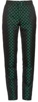 Mary Katrantzou Agate high-rise jacquard trousers