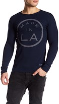 Kinetix Made In LA Knit Thermal Shirt