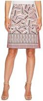 Nic+Zoe Globe Trotter Skirt Women's Skirt