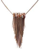 Amrita Singh Rollo Fringe Choker Necklace