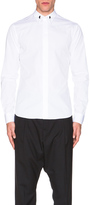 Givenchy Button Down Shirt with Silver Collar Stands