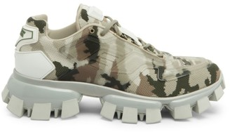Prada Cloudbust Thunder High-Tech Camo Sneakers