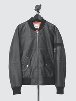Thumbnail for your product : Deadwood Women's Combo Original Leather Bomber Jacket