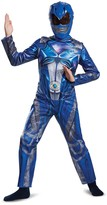 Disguise Power Rangers Blue Ranger Classic Costume (Little Boys & Big Boys)
