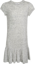 Little Remix New Blos Rayon and Linen Ruffled Long T-Shirt