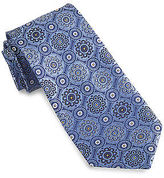 Rochester Round Medallion Silk Tie Casual Male XL Big & Tall