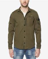 Buffalo David Bitton Men's Pieced Cargo Shirt