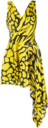Just Cavalli Abstract-Print Sleeveless Dress