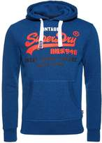 Superdry Store Hoodie Peppered Blue Grit