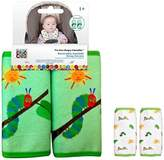 Eric Carle Reversible Car Seat Strap Covers 2 Sets by