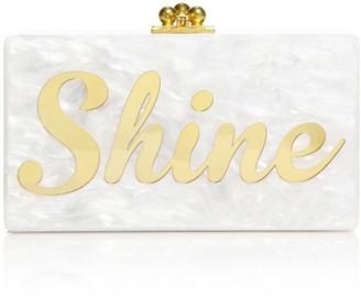 Edie Parker Jean Shine Acrylic Clutch