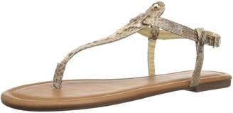 Rampage Women's Pashmina Casual Comfortable T-Bar Flat Sandals