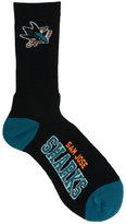 For Bare Feet San Jose Sharks Deuce Crew 504 Socks