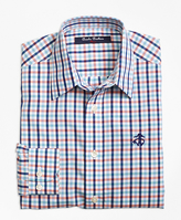 Brooks Brothers Non-Iron Multi Check Sport Shirt