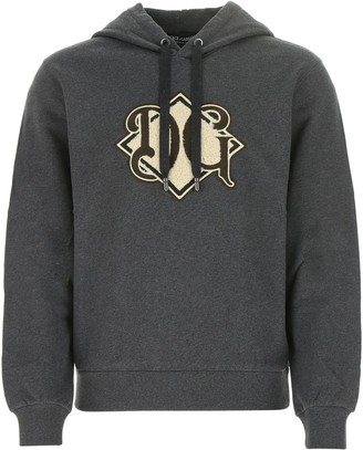 Dolce & Gabbana Monogram Logo Hoodie