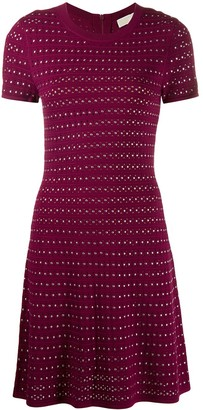 MICHAEL Michael Kors flare mini dress