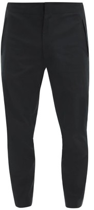 Descente Tapered Technical-twill Trousers - Black