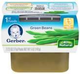 Gerber 2.5 oz. 1st Foods Vegetables Green Beans