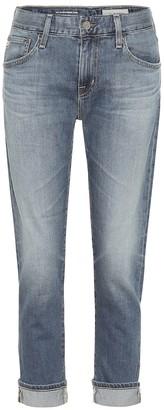 AG Jeans The Ex-Boyfriend mid-rise slim jeans