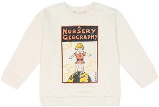 Gucci Kids Baby printed cotton sweatshirt