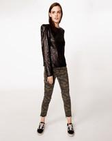 Nicole Miller Camo Jeans