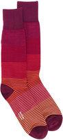 Paul Smith striped socks - men - Cotton/Polyamide - One Size