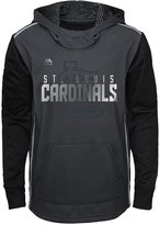 Majestic Boys' St. Louis Cardinals Blackout Hoodie