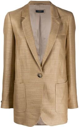 Peserico Single Buttoned Blazer
