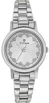 Titan Women's 917SM03 Contemporary Dial Metal Strap Watch