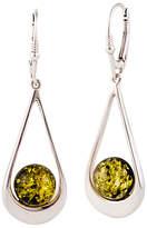 Be-Jewelled Sterling Silver Tear Drop Earrings