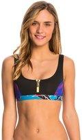Roxy Pop Surf Polynesia Zipped Bikini Top 8142172