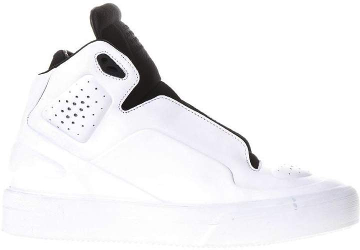 Maison Margiela Two Tones Sneakers In Leather