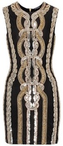 Balmain Sequinned minidress