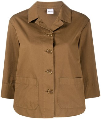 Aspesi Patch Pocket Shirt Jacket