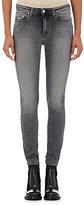 Acne Studios Women's Mid-Rise Skinny Jeans-DARK GREY