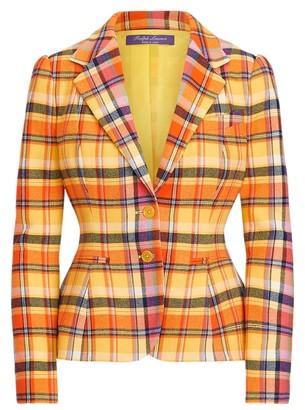 Ralph Lauren Eloise Plaid Jacket