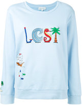 Mira Mikati embroidered sweatshirt - women - Cotton - 36