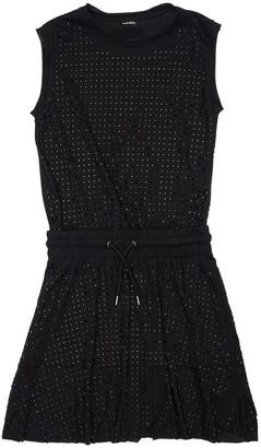 Diesel Embellished Cotton Jersey Dress