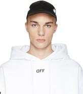 Off-White Black Diagonal Spray Cap